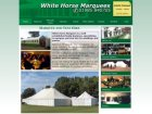 White Horse Marquees Screenshot